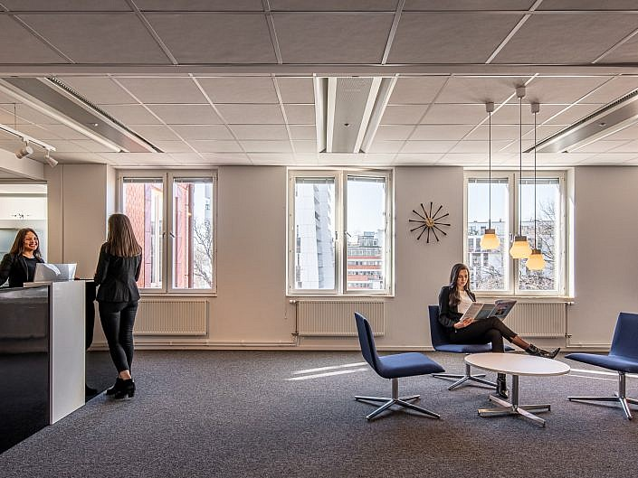 Interiors for companies